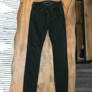 Articles of Society olive jeans